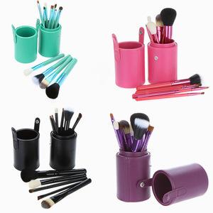 wholesale no logo high quality best price 12 pcs makeup tool 12pcs make uo brush set goat hair