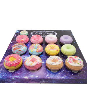 Wholesale packaging oem romantic all natural scent bath bomb gift sets