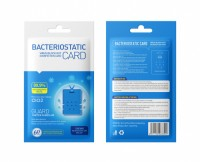 Hot Selling Air Bacteriostatic Card / Disinfection Sterilization Lanyard Protection Card