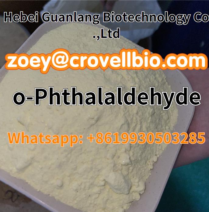 China supplier o-Phthalaldehyde CAS 643-79-8 zoey@crovellbio.com