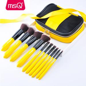 10pcs makeup tool private label makeup brush set