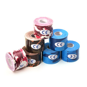 """5cm*5m(2""""*16.4ft) OEM accepted custom kinesiology recovery sport printed muscle tape for sports safety"""