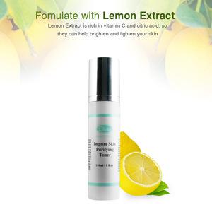 acne blackhead oily skin care whitening face toner
