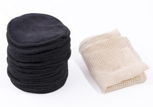 Bamboo Charcoal Face Reusable Make Up Remover Pads Washable Makeup Remover Pads