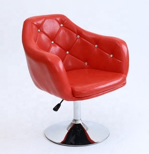 Cheap White Salon Furniture wholesale beauty chair with hyderaulic pump with button tufted