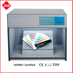 Color light box/color viewing booth with D65,TL84,CWF,U30/TL83,UV,F/A