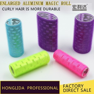 Factory price magic type hooks hair rollers loop hair rollers