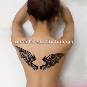 Fashion style glitter body tattoos