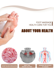 feet massager Blood Circulation foot spa machine EMS Electric foot spa massager