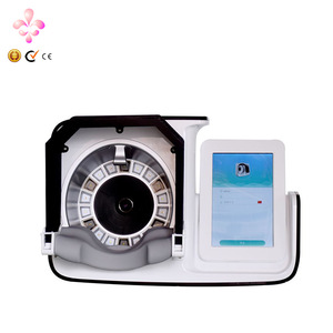 Guangzhou beauty Magic mirror system skin detection tablet computer 3D portable facial skin analyzer