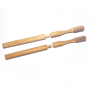 New Eco-friendly Products Replace handle Zero Waste Degradable Bamboo Toothbrush Replacement Heads