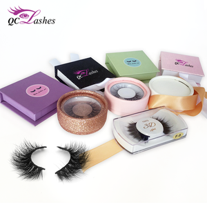 New Style 3D Mink Lashes Packaging Custom Private Label False Eyelashes for makeup