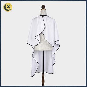New style customized popular hair cut barber cape with window in bulk