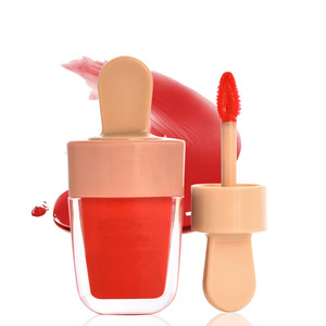 OEM 2018 new product special shape make your own lip gloss colors Icecreamlip glaze lip gloss