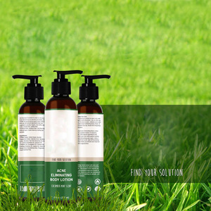 Private Label Acne Whitening Body Lotion with Essential Oil