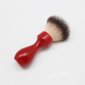 Private label Resin Mens grooming Shaving brushes Long Handle JDK Barber Synthetic Knots wholesale Shaving brush