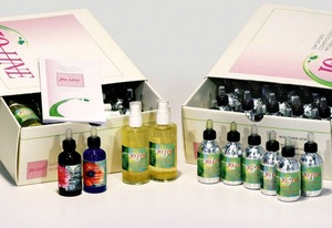 The Italian skin care: olive oil organic cosmetics for special skin care set
