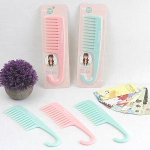 Wholesale Hair Care Tools Home Comb  Women Girl Plastic Comb Beauty Comb