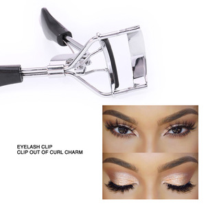 Wholesale O.TWO.O High Quality Stainless Steel Beauty Tools Black Silver Eyelash Curler