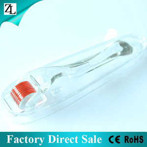 ZL Factory Direct Sale OEM 2014 High Quality MT Titanium Needles Dermaroller Derma Rolling System