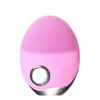Sain popular Silicone facial Cleansing Brush face brush Cleanser electric massage machines / Deep Cleaning Device sonic facial