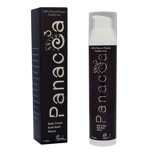 24h Body Cream from 75% snail secretion - Panacea3 Gold Line