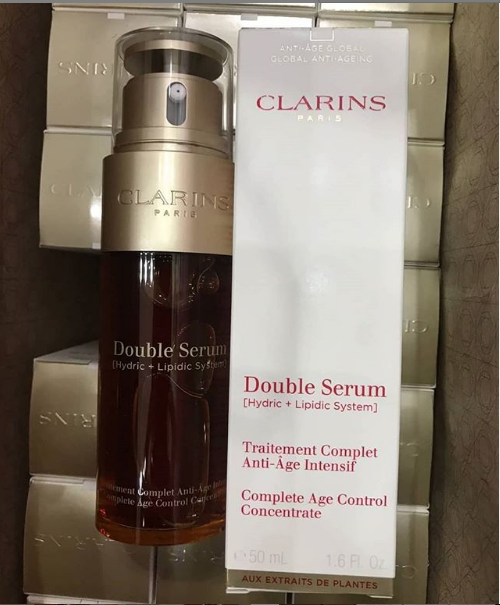 clarins double serum complete age control concentrate 50ml/1.6oz