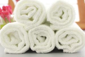 100% cotton custom white bath towel china supplies