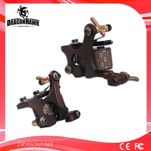 A pair of tattoo coil machines gun shader & liner for beginner easy to learn