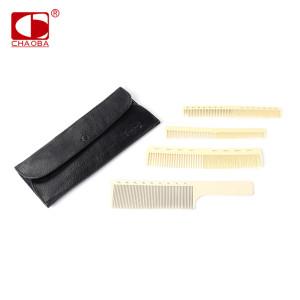 CHAOBA CY-A-148 Hair salon custom logo POM polymeric hair brush hot selling professional salon combs sets