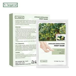 Custom Private Label Exfoliating Foot Mask Peeling Pack Mask Foot Peel Mask
