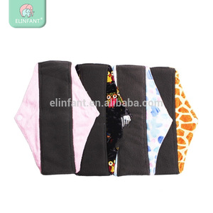 Elinfant Reusable Washable Feminine Hygiene Cloth Menstrual Pads Sanitary Pad