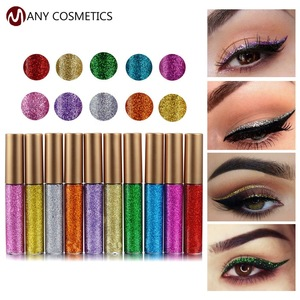 Help You Build Your Brand Glitter Liquid Eyeliner Small Order Accepted