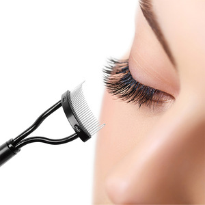 New Arrival Make up Mascara Guide Applicator Eyelash Comb Eyebrow Brush Curler Beauty Essential Tool