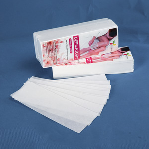 OEM Nonwoven Wholesale depilatory Wax Strips For Body Hair Removal 7cmx20cm 70gsm 100pcs