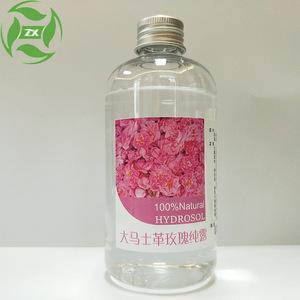 OEM/ODM Damascus rose hydrosol spray plant floral water wholesale organic moisturizing whitening hydrosol 100% pure rose water