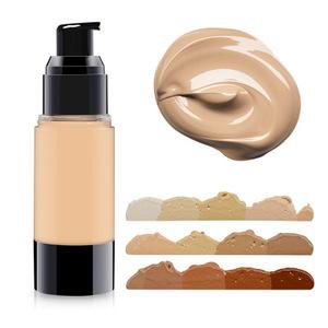Private label cosmetic organic makeup liquid foundation