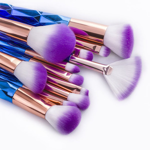 Professional Unicorn Makeup Brushes Foundation Set Makeup Tools Kit 12pcs Makeup Cosmetic Brushes Set Powder
