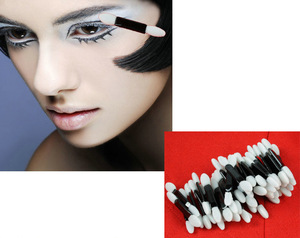 Promotional Dual-ended Disposable Sponge Makupe Eye Shadow Applicator