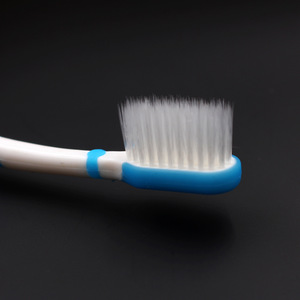 Teenager ultra soft bristle toothbrush thick handle compact head
