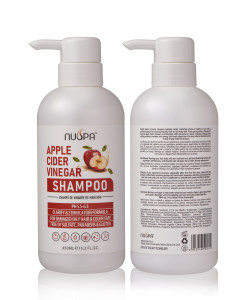 Wholesale Private Label Nuspa Hair Care Apple Cider Nourishing & Hydrating best Hair Shampoo with Natural Argan Oil