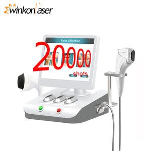 Winkonlaser 20000 Shots 3D Hifu Face Body Lift HIFU Machine 8 Cartridges 11 Lines Portable HIFU Anti-Wrinkle Machine