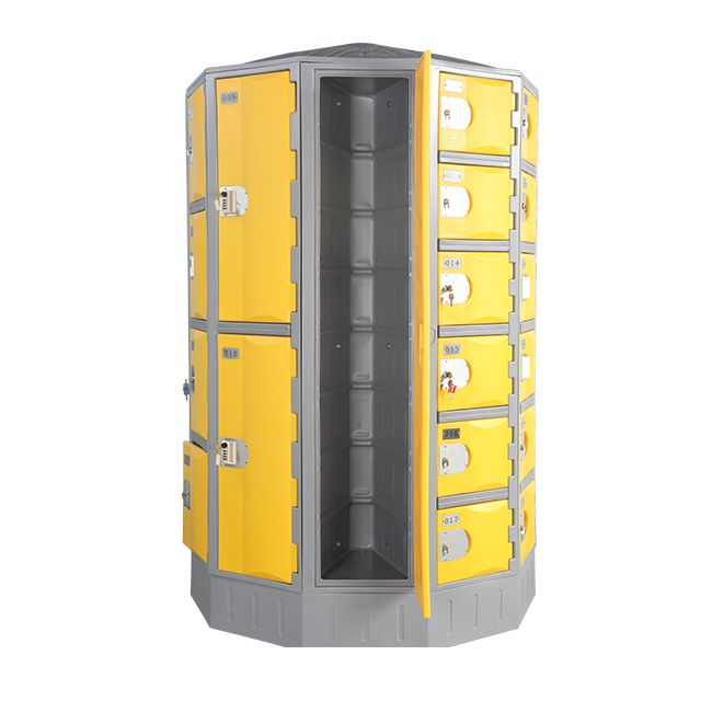 Heavy Duty Plastic Locker