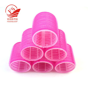 2017 Wholesales Cheap High Quality Manufacturer Supply DIY Custom Design Shape Hair Accessories Hook and Loop Hair Roller