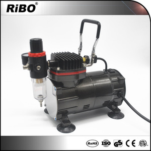 Airbrush supplies for multi purpose such as body paint with airbrush pen and auto stop function air compressor