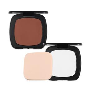 beauty cosmetic face matt vegan compact powder custom press powder palette no logo face contour private label bronzer makeup