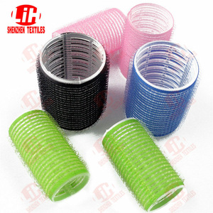 Fashion flexible magic heated plastic hair rollers