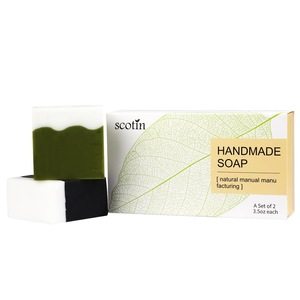Natural Handmade Soap for Moisturizing, Anti-aging Antioxidant Plant Essence Face and Body Care Soap Bar