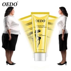 OEDO Hyaluronic Acid Ginseng Slimming Cream Reduce Cellulite Lose Weight Burning Fat Slimming Cream