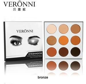 OEM 9colors Multipurpose Long lasting Waterproof Paillette Body Glitter Kohl/Eye shadow powder
